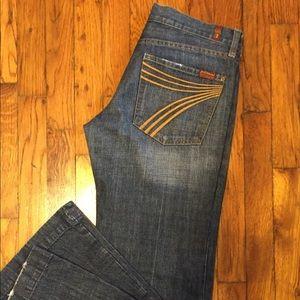 Size 29 Seven Dojo Jeans. Flare